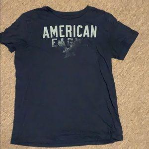 American eagle logo tee